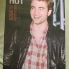 HOT Sexy Robert Pattinson 22x34 Poster Leather Jacket Plaid Shirt Twilight Saga