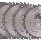 5 PC, 7'' SAW BLADE ASSORTMENT