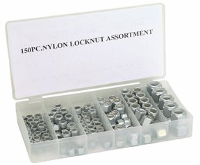 150 PC. NYLON LOCK NUT SET