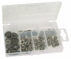 70 PC. STAINLESS STEEL NUT