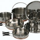 12 Piece Camping Cook Set