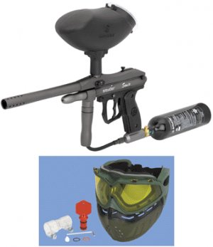 Sonix® Value Pack Paintball Gun