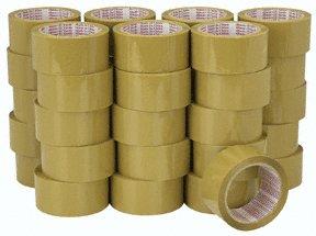 36 Rolls Tan Packing Tape