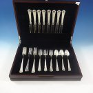"Washington by Wallace Sterling Silver Flatware Set 8 Service 32 Pcs ""S"" Monogram"