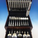 Michelangelo by Oneida Sterling Silver Flatware Set For 12 Service 57 Pieces