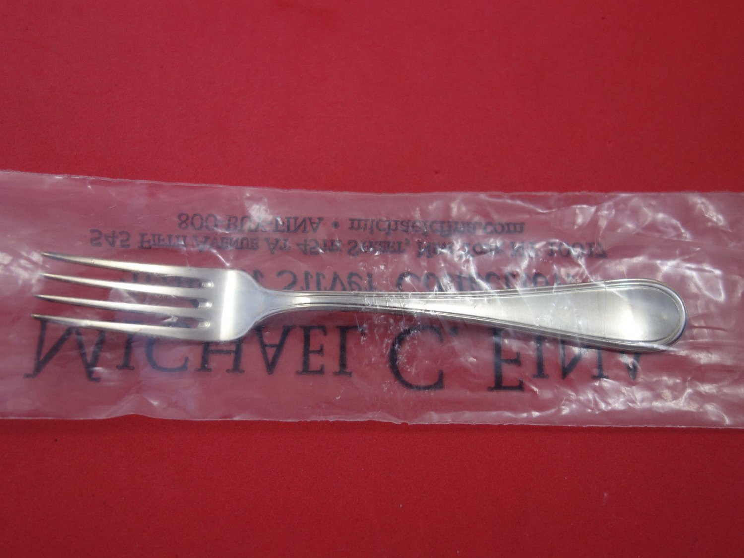 "Inglese By Schiavon Sterling Silver Cocktail Fork 5 1/2"" New"
