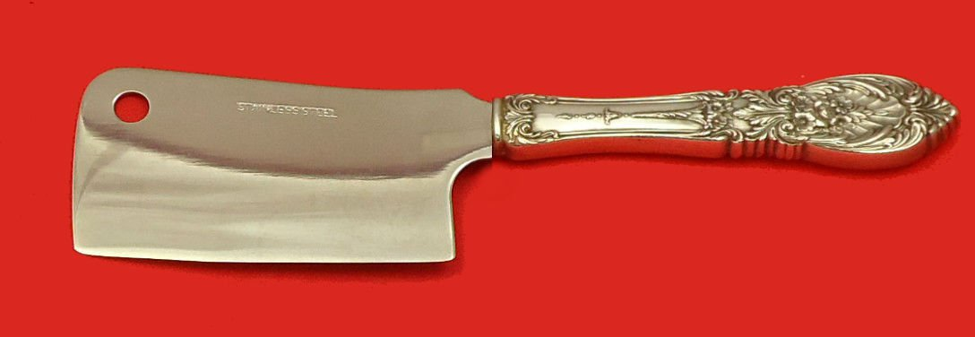 """Richelieu by International Sterling Silver Cheese Cleaver HHWS  Custom 6 1/2"""""""