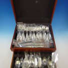 Decor by Gorham Sterling Silver Flatware Set For 12 Dinner Service 89 Pcs New