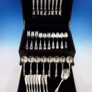 Lily by Frank Whiting Sterling Silver Flatware Set for 8 Service 49 Pieces