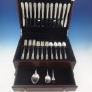 Queen'S Lace by International Sterling Silver Flatware Set 12 Service 51 Pieces