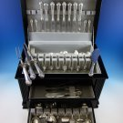 Lenox by Durgin Sterling Silver Flatware Set For 8 Dinner Service 109 Pcs Huge