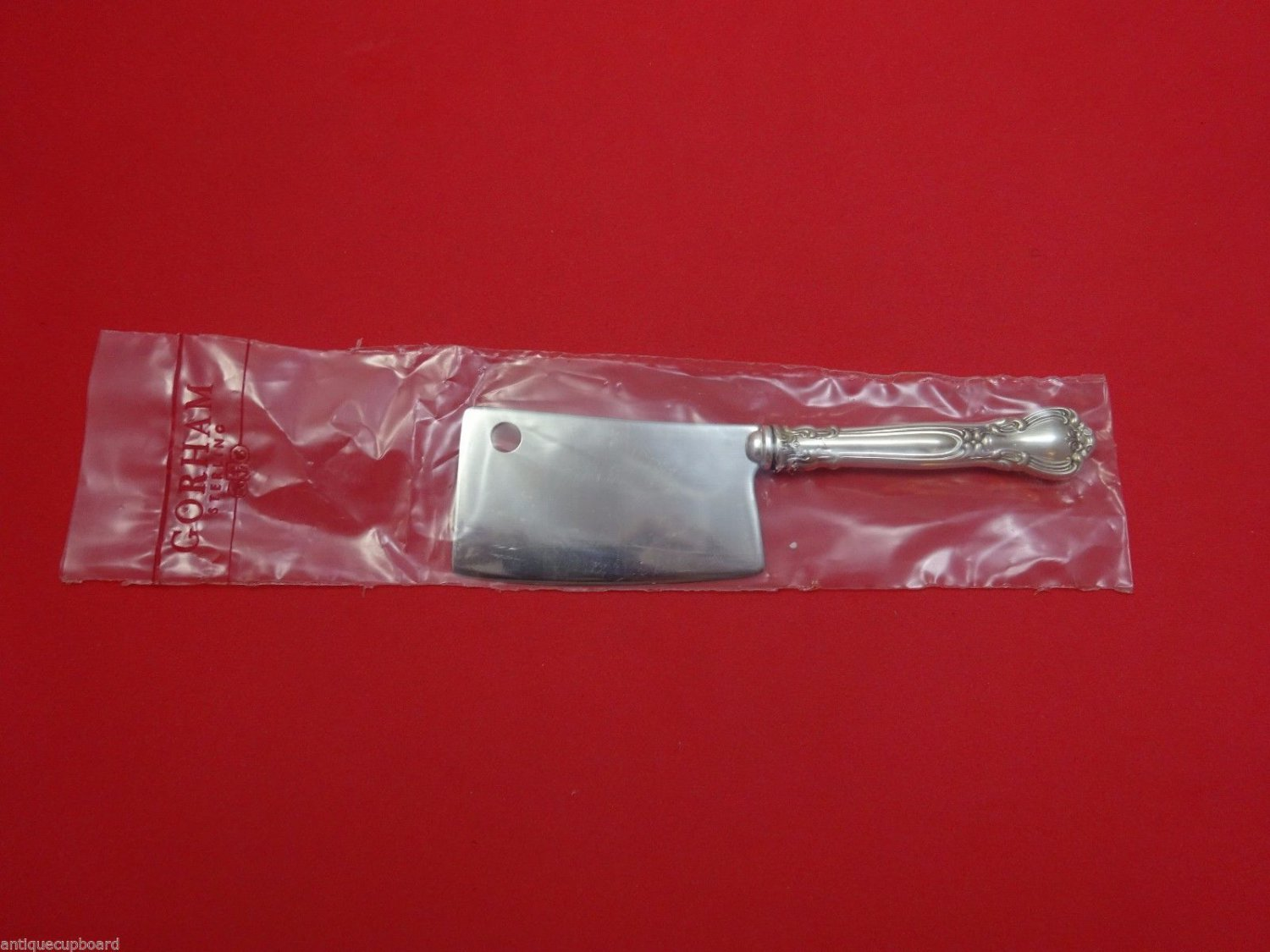 """Chantilly by Gorham Sterling Silver Cheese Cleaver 6 1/2"""" New"""