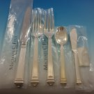Capitol by Greggio Italy Sterling Silver Flatware Set Dinner Size 20 Pcs New