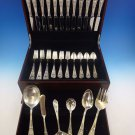 Fontaine by International Sterling Silver Flatware Service For 12 Set 54 Pieces