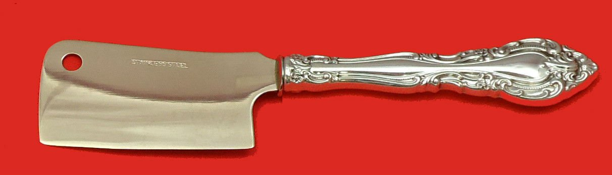 """Baronial by Gorham Sterling Silver Cheese Cleaver HHWS  Custom Made 6 1/2"""""""