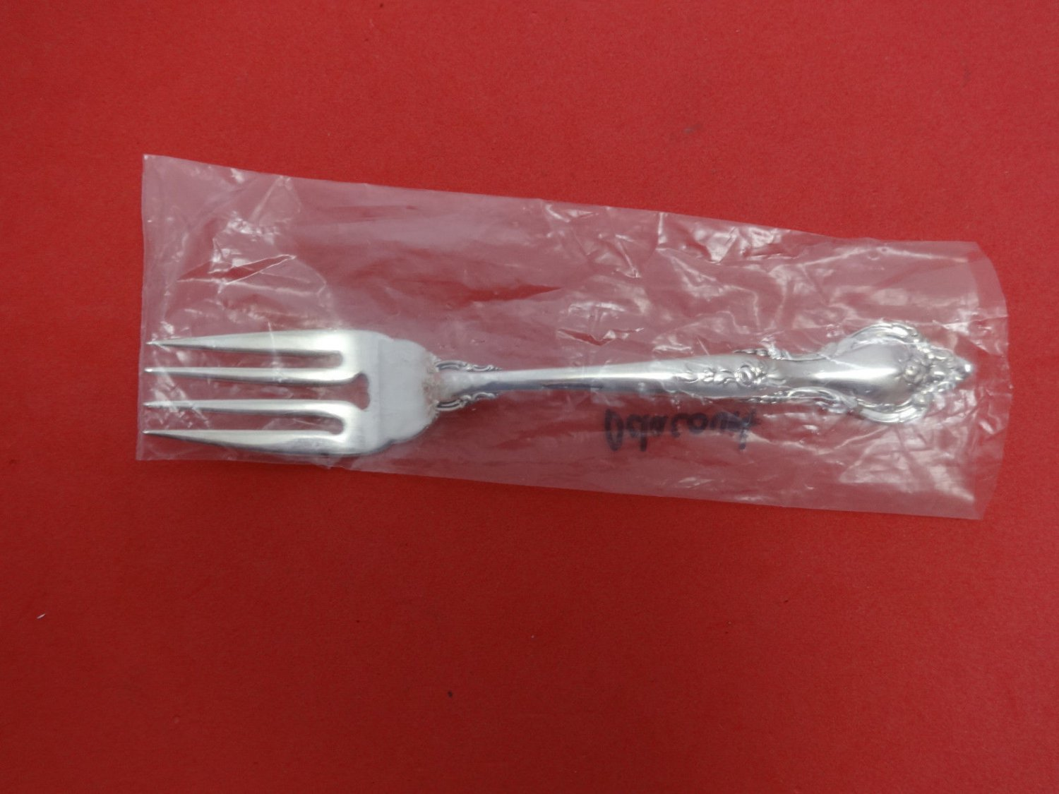 "Delacourt by Lunt Sterling Silver Salad Fork 6 1/2"" New"