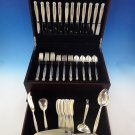 Copenhagen by Manchester Sterling Silver Flatware Service For 12 Set 65 Pieces