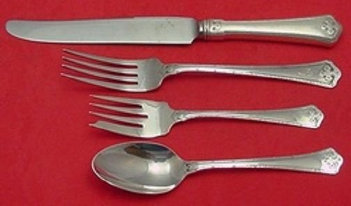 Carmel by Wallace Sterling Silver Regular Size Setting(s) 4pc