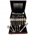 Champagne by O. Mogensen Danish Sterling Silver Flatware Set For 8 Modern 62 Pcs
