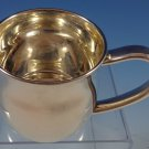 "Silhouette by Lunt Sterling Silver Baby Cup 2 1/4"" X 2 1/8"" (#1144)"