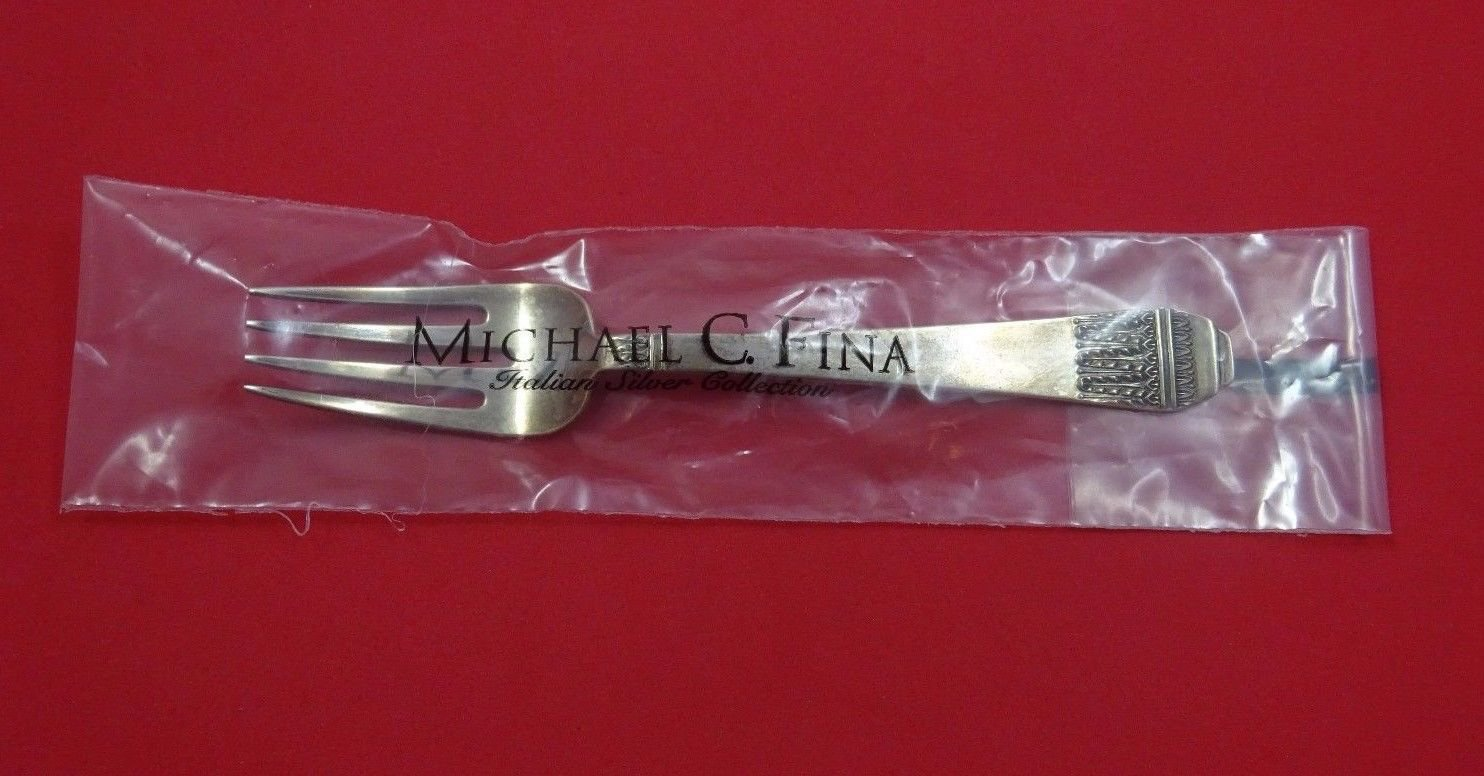 "Coloniale by Calegaro Italian Sterling Silver Salad Fork 6 7/8"" Retail $170 New"