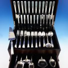 Craftsman by Towle Sterling Silver Flatware Set For 12 Service 79 Pieces