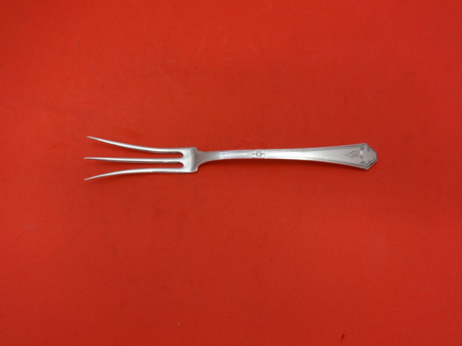 Lady Mary by Towle Sterling Silver Lemon Fork 5 1/2""