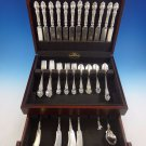 Violet by Wallace Sterling Silver Flatware Service For 12 Set 73 Pieces