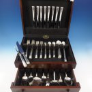 Horizon by Easterling Sterling Silver Flatware Set For 8 Service 67 Pieces
