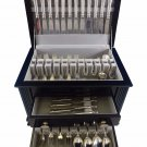 Christiansborg by Grann & Laglye Denmark Sterling Silver Flatware Set For 12