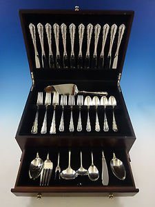 Shenandoah by Wallace Sterling Silver Flatware Set For 12 Service 57 Pieces