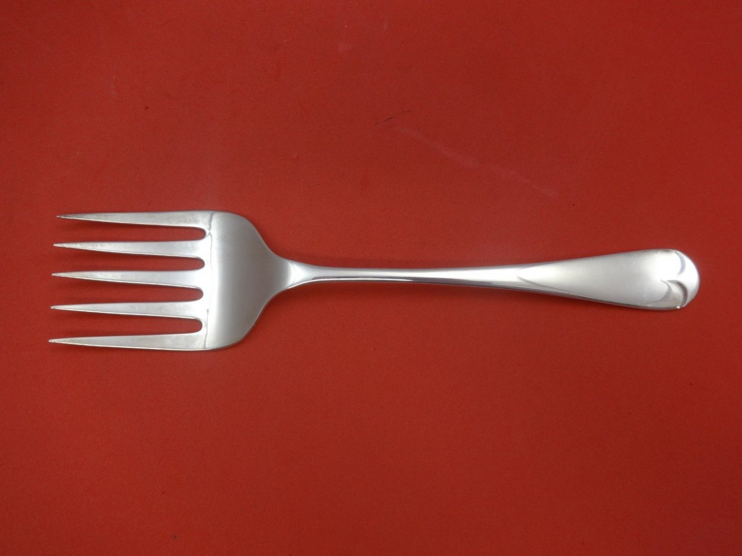 Old English by Carrs Sterling Silver Serving Fork Large 8 3/4""