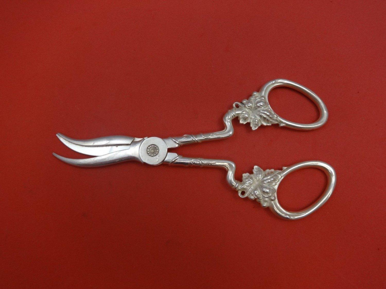 "Tiffany & Co. Sterling Silver Grape Shears 6 3/4"""