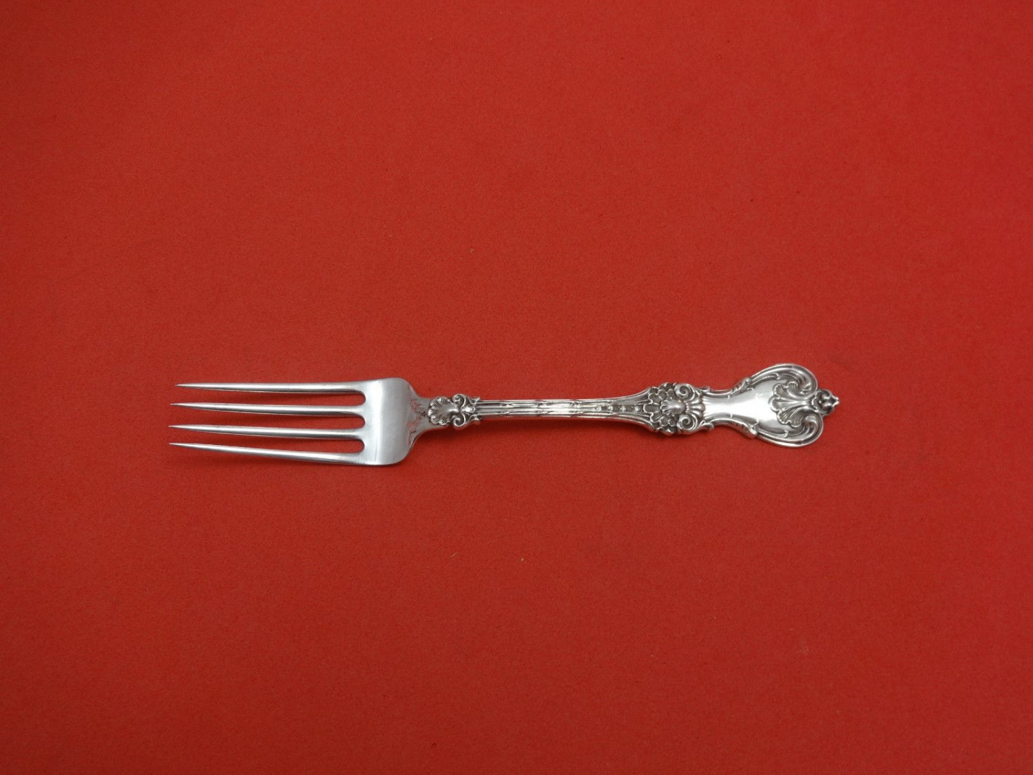 """King Edward by Whiting Sterling Silver Dinner Fork 7 3/4"""""""