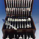 Rhapsody by International Sterling Silver Flatware Service For 12 Set 80 Pieces