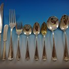 New Standish by Durgin Sterling Silver Flatware Service For 6 Set 73 Pcs Dinner