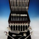 Andante by Gorham Sterling Silver Flatware Set For 12 Service 77 Pieces