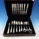 Louis XIV by Towle Sterling Silver Flatware Set For 8 Service 50 Pieces