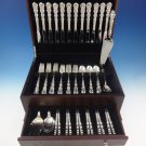Angelique by International Sterling Silver Flatware Set For 12 Service 64 Pieces