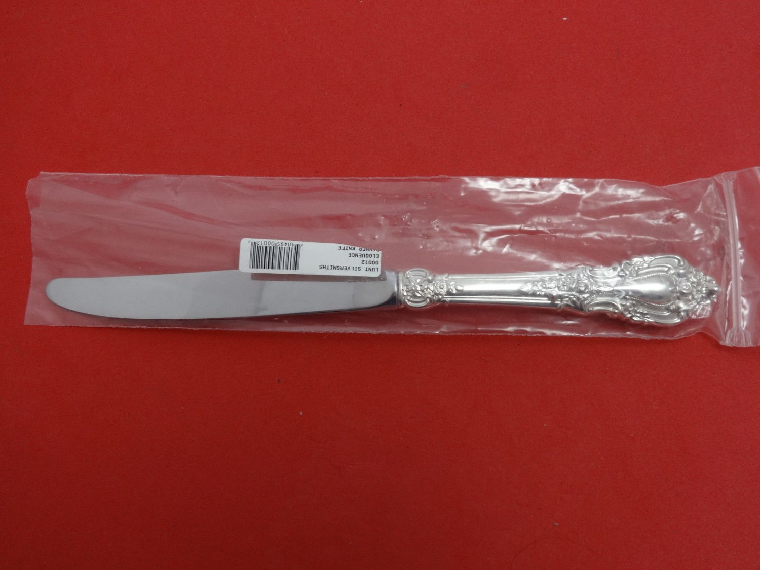 "Eloquence by Lunt Sterling Silver Dinner Knife Modern 9 3/4"" New"