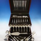 Carthage by Wallace Sterling Silver Dinner Size Flatware Service 8 Set 58 Pieces