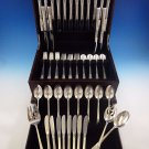 Columbine by Lunt Sterling Silver Flatware Service For 8 Set 59 Pieces