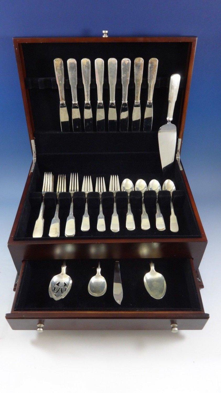 Eighteen Ten 1810 by International Sterling Silver Flatware Service 8 Set 37 Pcs