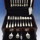 Eighteen Ten 1810 by International Sterling Silver Flatware Service 8 Set 37 Pcs