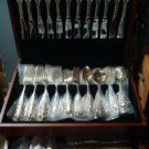 Crest of Arden by Tuttle Sterling Silver Flatware Set Dinner Size 84 Pieces