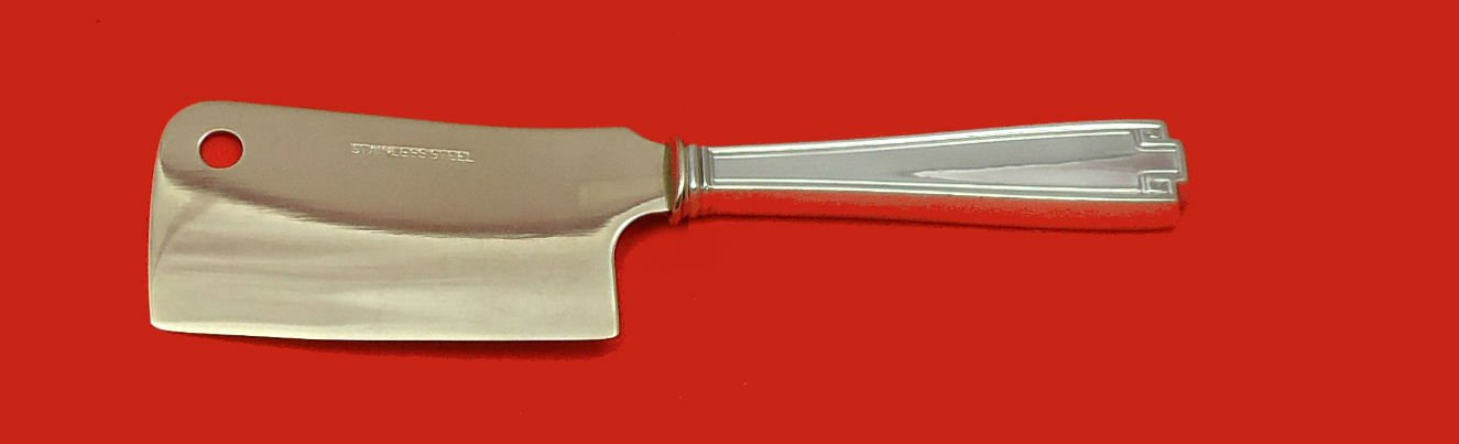 Etruscan by Gorham Sterling Silver Cheese Cleaver HHWS  Custom Made 6 1/2""