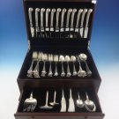 Onslow by Tuttle Sterling Silver Flatware Service For 12 Set 77 Pieces