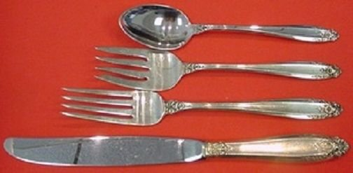 Prelude by International Sterling Silver Regular Size Place Setting(s) 4pc