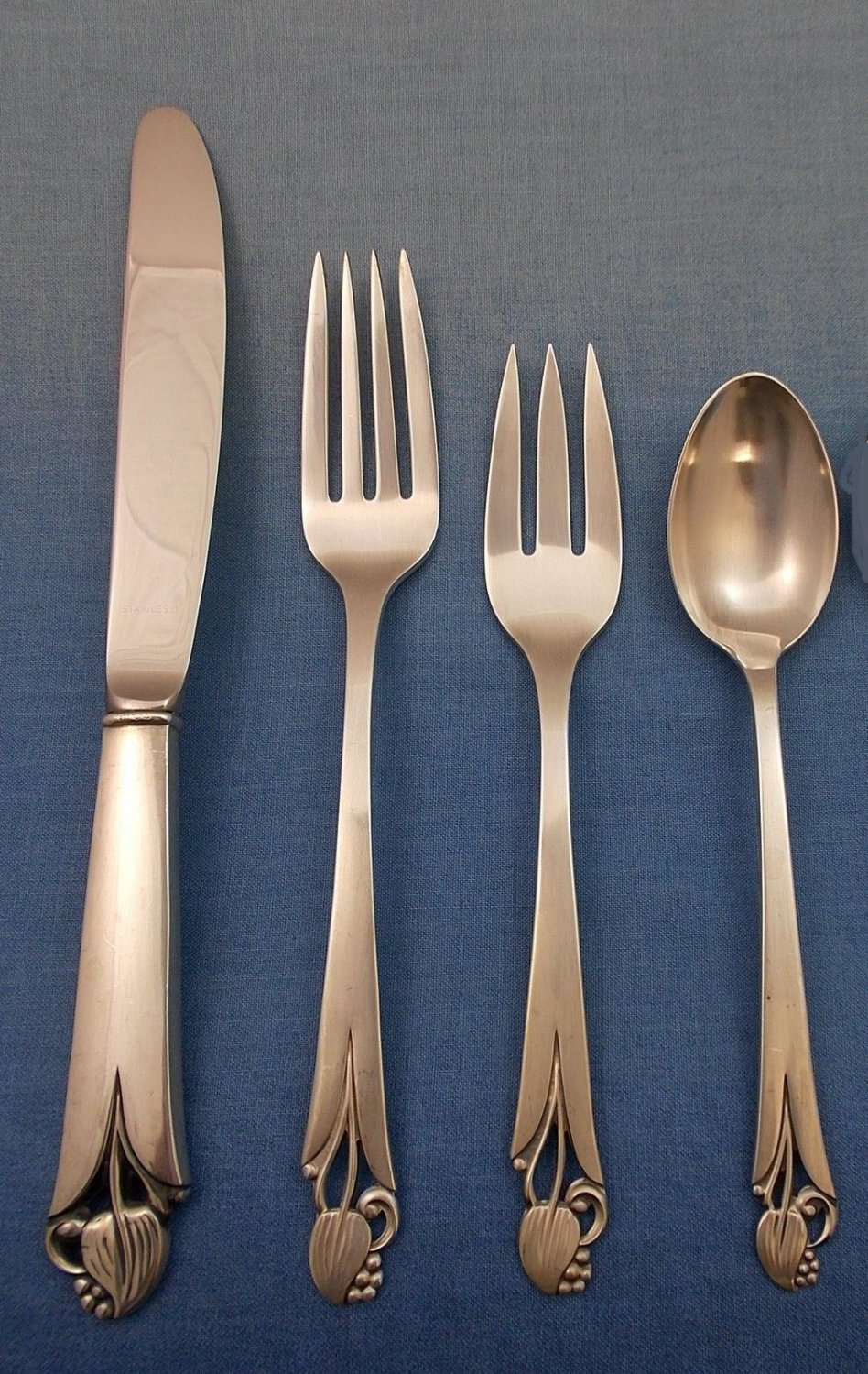 Woodlily by Frank Smith Sterling Silver Regular Size Place Setting(s) 4pc