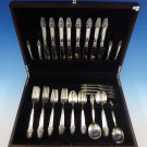 Sovereign Old by Gorham Sterling Silver Flatware Set For 8 Service 49 Pieces